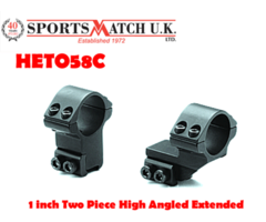 Sportsmatch HETO58C 1 inch Two Piece High Angled Extended
