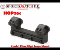 Sportsmatch HOP26c 1 inch 1 Piece High Scope Mount