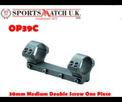Sportsmatch OP39C 30mm Medium Double Screw One Piece Rifle Scope Mount
