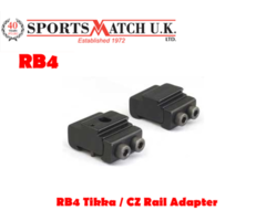 Sportsmatch RB4 Tikka / CZ Rail Adapter