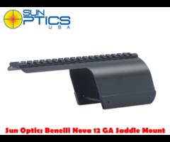 Sun Optics Benelli Nova 12 GA Shotgun Saddle Scope Mount