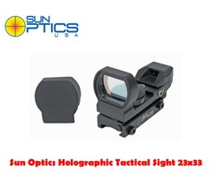 Sun Optics Holographic Tactical 23×33 Red Dot Sight