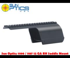 Sun Optics Remington 870/ 1100 / 1187 RH 12 Ga Shotgun Saddle Mount