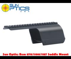 Sun Optics Remington 870/1100/1187 LH/RH 12 Ga Shotgun Saddle Mount