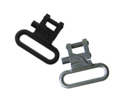 Talon Q/R swivels 1″ STAINLESS or BLACK
