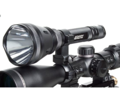 Tracer Ledray Tactical ES1000 350m 480 Lumen Hunting Gun Torch Light with Mount