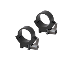 Warne 1 inch 7.3 / 22 Rimfire Steel Quick Detach Scope Rings