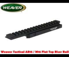 Weaver Optics Tactical AR15 / M16 Flat Top Riser Rail
