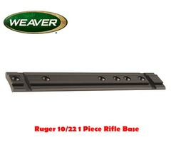 Weaver Ruger 10/22 1 Piece Rifle Base T09