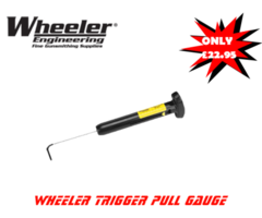 Wheeler Trigger Pull Guage Scale