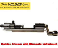 Wilson Stainless Trimmer with Micrometer Adjustment : CTSS-MIC