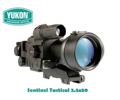 Yukon Advanced Optics Sentinel Tactical 2.5×50