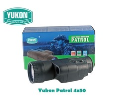 Yukon Patrol 4×50 Gen 1 Night Vision Monocular
