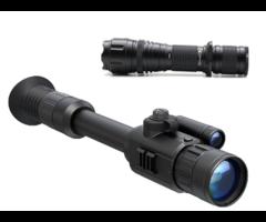 Yukon Photon XT 4.6×42 Night Vision Rifle Scope + Nightmaster NM400 IR Kit