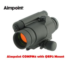 Aimpoint COMPM4 Red Dot Sight with QRP2 Scope Mount