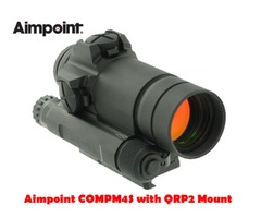 Aimpoint COMPM4S Red Dot Sight with QRP2 Scope Mount