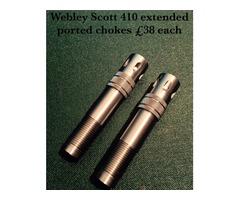 Webley Scott 410 chokes