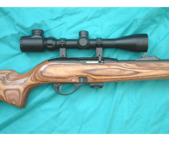 Remington 597 (Complete Outfit) Laminated .22 Long Rifle