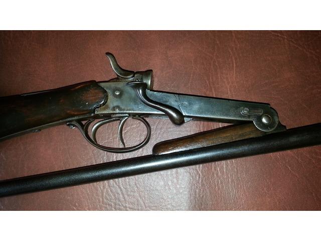 for sale belgian side by side hammer folding 410 shotgun gungle. Black Bedroom Furniture Sets. Home Design Ideas