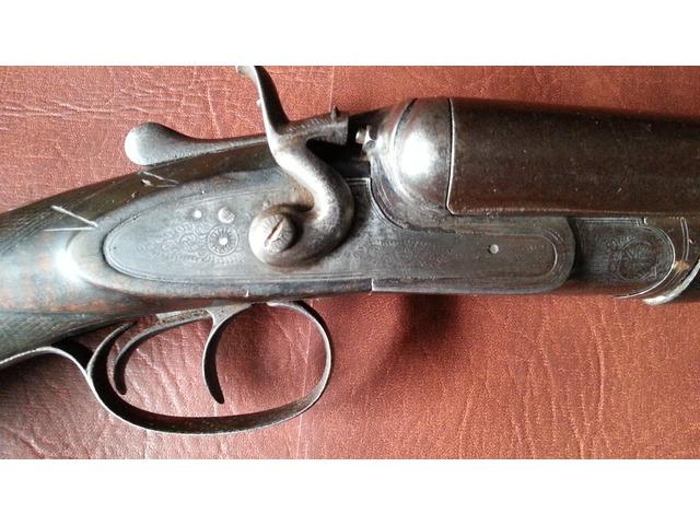 for sale slingsby of boston sleaford side by side 12 gauge hammer shotgun gungle www. Black Bedroom Furniture Sets. Home Design Ideas