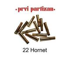 22 Hornet PPU Brass Cases Pack 100 ProductCode: C193