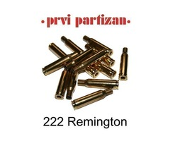 222 Remington PPU Brass Cases Pack 100 Product Code: C032