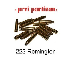 223 Remington PPU Brass Cases Pack 100   Product Code: C132