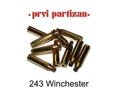 243 Winchester PPU Brass Cases Pack 100  Product Code: C134