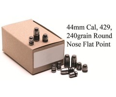GM Lead Bullet Heads 429, 240grain Round Nose Flat Point Code: 3605M