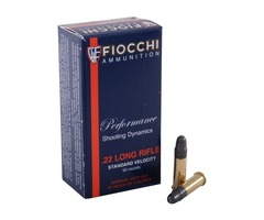 Fiocchi Standard Velocity 22LR Box of 50rnds