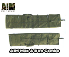 AIM Shooting Mat and Gun Case Combo