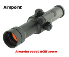 Aimpoint 9000L ACET 30mm 2 MOA Black Red Dot Sight