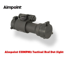 Aimpoint COMPM2 4 MOA Black Tactical Red Dot Sight