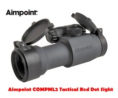 Aimpoint COMPML2 2 MOA or 4 MOA Black Tactical Red Dot Sight