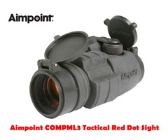 Aimpoint COMPML3 4 MOA Black Tactical Red Dot Sight