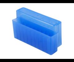 Berrys Slip Top 20 RD Blue Rifle Ammo Box