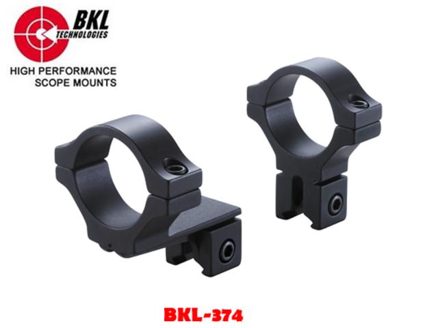 "Matte Black BKL-260-4/"" Long Unitized Dovetail Scope Mount"