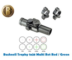 Bushnell Trophy Handgun / Shotgun 4 Multi Reticle Red / Green Sight