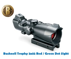 Bushnell Trophy Tactical MP 3 MOA 2×32 Red / Green Dot Sight