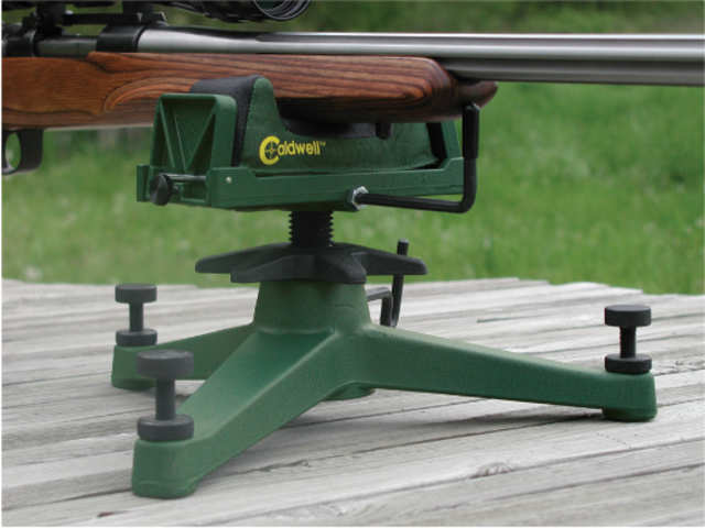 For Sale Caldwell The Rock Deluxe Shooting Bench Rest Gungle
