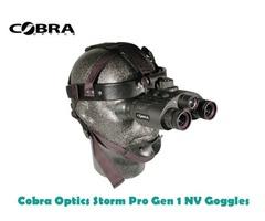 Cobra Optics Storm Pro Gen 1 Night Vision Goggles