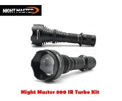 DereeLight Night Master NM800 IR Night Vision Infared Illuminator Turbo Kit