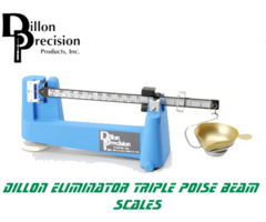 Dillon Precision Eliminator Triple Poise Beam Reloading Scale