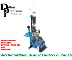 Dillon Precision Square Deal B Complete Reloading Press