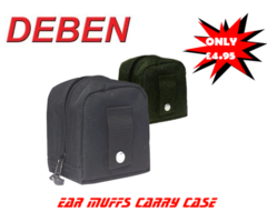Ear Defenders Canvas Carry Case