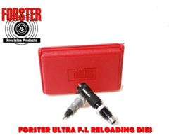 Forster Ultra Reloading Die Set with Full Length Micrometer Seater