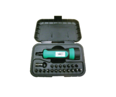 G.P.I Technical Torque Wrench Kit including 19 Bits