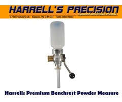 Harrells Premium Benchrest Reloading Powder Measure / Powder Thrower 60gr Capacity