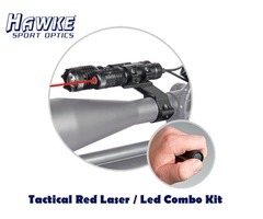 Hawke Red Tactical Laser / Led Combo Kit – HK3508