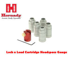 Hornady Lock n Load Cartridge Headspace Gauge Kit – Body & 5 Bushes